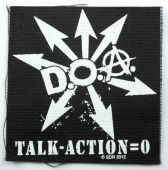 D.O.A. - 'Talk-Action=0' Printed Patch
